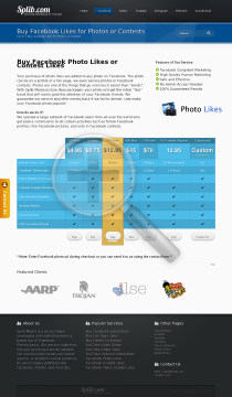 100 Web Page Photo Likes preview. Click for more details