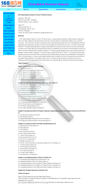 2010 Deep Research Report on China TCO Glass Industry preview. Click for more details