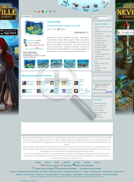 3D Aqua Slider preview. Click for more details
