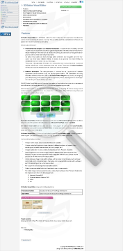3D Button Visual Editor Light edition preview. Click for more details