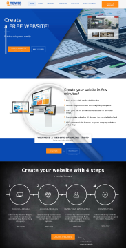 4ToWeb Easy Website Builder preview. Click for more details