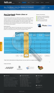 500 Web Page Photo Likes preview. Click for more details