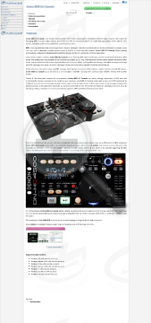 Active MIDI DJ Console preview. Click for more details