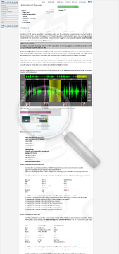 Active Sound Recorder preview. Click for more details