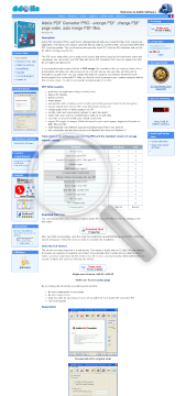 Adolix PDF Converter PRO preview. Click for more details