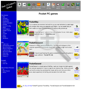 All Of The PocketPC Games preview. Click for more details
