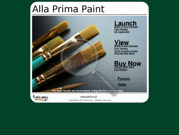 Alla Prima Paint preview. Click for more details