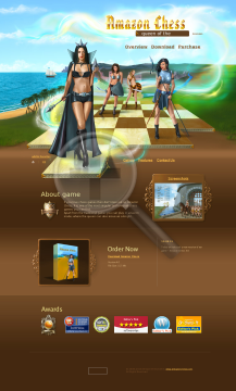 Amazon Chess preview. Click for more details