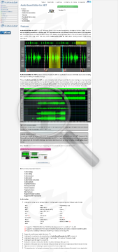Audio Sound Editor for NET preview. Click for more details