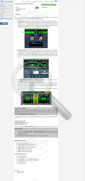 Audio Sound Suite for NET preview. Click for more details