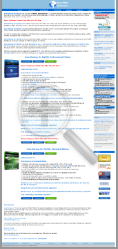 Auto Backup for MySQL Professional Edition NonCommercial License preview. Click for more details