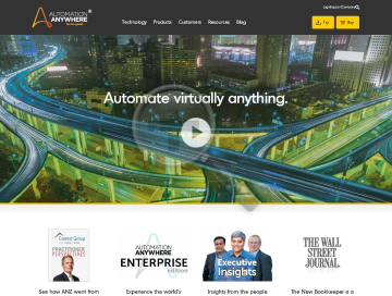 Automation Anywhere preview. Click for more details