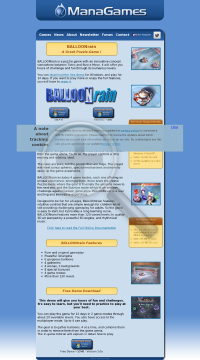 BALLOONrain preview. Click for more details