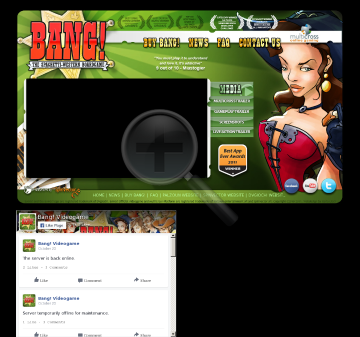 BANG the Official Video Game NOT COMPATIBLE WITH WINDOWS preview. Click for more details