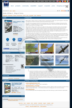 Battle of Britain II Wings of Victory preview. Click for more details