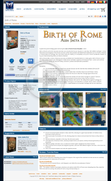 Birth of Rome preview. Click for more details