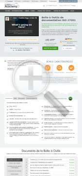 Bo te Outils ISO 27001 fran ais preview. Click for more details