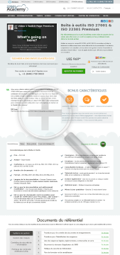 Bo te Outils Premium ISO 27001 ISO 22301 fran ais preview. Click for more details