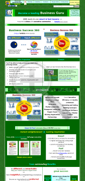 BUSINESS SUCCESS 360 PowerPoint slides with Executive Summaries preview. Click for more details