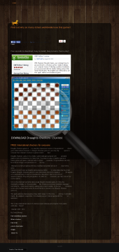 Checkers Draughts Game preview. Click for more details