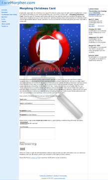 Christmas Card preview. Click for more details