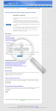 Classic Menu for Outlook 2007 preview. Click for more details
