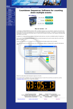 Countdown Sequencer preview. Click for more details