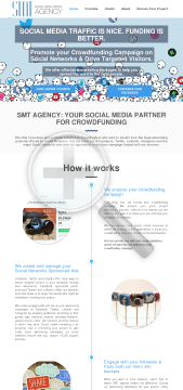 Crowdfunding Packages SMT Agency preview. Click for more details