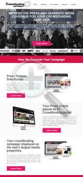 Crowdfunding PR preview. Click for more details