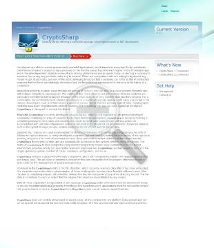 CryptoSharp Security Library preview. Click for more details