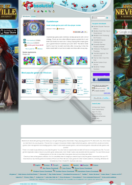 CrystalScope preview. Click for more details