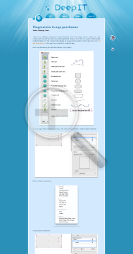Diagrammix In App Purchase Vector Drawing Tools preview. Click for more details