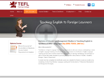 Diploma EMS TESOL 200 hr preview. Click for more details