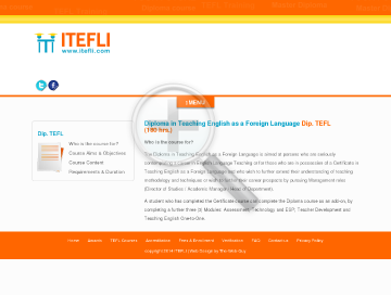 Diploma in TEFL 180 hrs preview. Click for more details