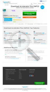 Download Accelerator Plus preview. Click for more details