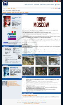 Drive on Moscow preview. Click for more details