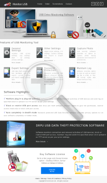 DRPU USB AntiData Theft Protection preview. Click for more details