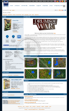 Drums of War preview. Click for more details