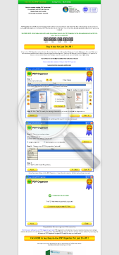 EasytoUse PDF Organizer 2012 preview. Click for more details