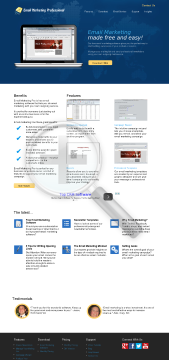 Email Marketing Pro preview. Click for more details