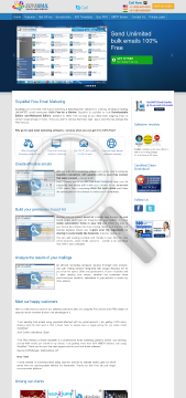 Email Marketing Products Services preview. Click for more details