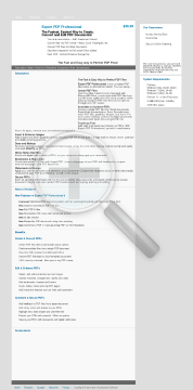 Expert PDF Professional preview. Click for more details
