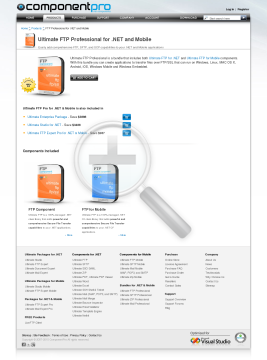 FTP Expert Professional Bundle NET and Mobile preview. Click for more details