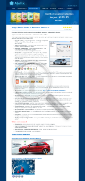 Image Banner Rotator Expression Web AddIn preview. Click for more details
