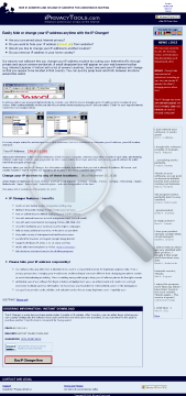 IP Changer Software to Change IP Address preview. Click for more details