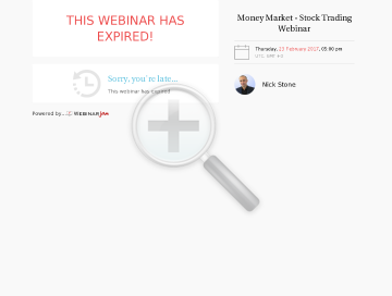 Live Day Trading Webinar preview. Click for more details