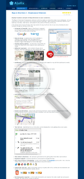 Maps Directions Dreamweaver Extension preview. Click for more details