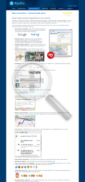 Maps Directions Expression Web AddIn preview. Click for more details