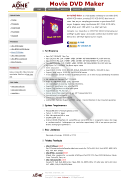 Movie DVD Maker preview. Click for more details