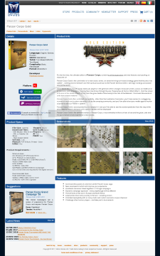 Panzer Corps Gold preview. Click for more details
